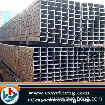 Hollow Section Black Square Steel